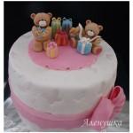 ДТ 24 Торт мишки с подарками
