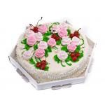 СВ 281 Торт для женщин без мастики