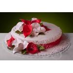ПР 287 Торт с красивыми цветами