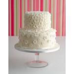 СВ 500 Торт свадебный белый
