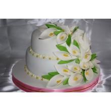 СВ 810 Торт свадебный с калами