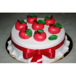 ПР 47 Торт красные яблоки