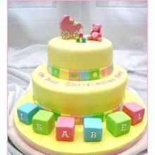 ДТ 1002 торт детский с кубиками