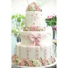 СВ 965 Торт свадебный роскошный и нежный