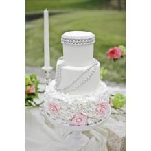 БСВ 78 торт свадебный изящный