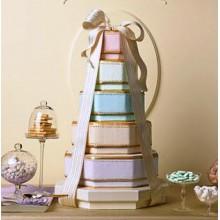 СВ 365 Торт свадебный нежный разноцветный