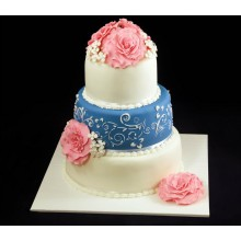 СВ 162 Торт нежные цветы