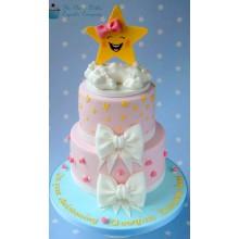 ДТ 608 торт улыбка звезды