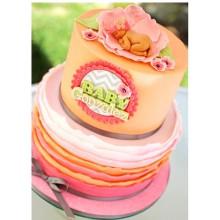 ДТ 616 торт младенец в цветке