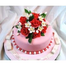 РМ 602 Торт роскошные цветы