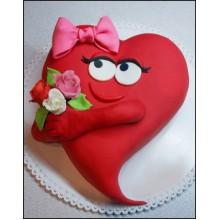 РМ 124 Торт кокетливое сердце
