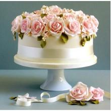 СВ 609 Торт с нежными розами