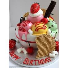 ПР 103 Торт вкусняшка мороженое