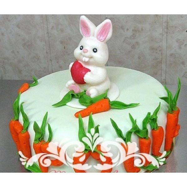 Тортик зайка фото