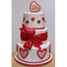 РМ 693 Торт свадебный романтика