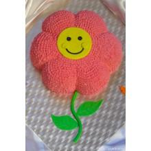 ПР 25 Торт скромный цветочек