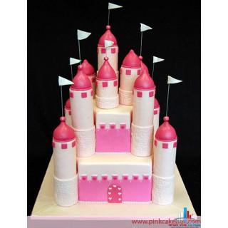ДТ 609 Торт замок принцессы