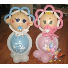 Ш-31 Фигурки из шаров новорожденные