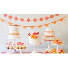 ПР 520 Торты праздничные в оранжевых тонах