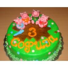 ДТ 356 Торт Свинка пеппа