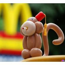 Ш-63 Фигурка из шаров обезьна