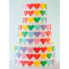 РМ 910 Торт с разноцветными сердечками