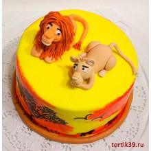ДТ 808 Торт Король Лев