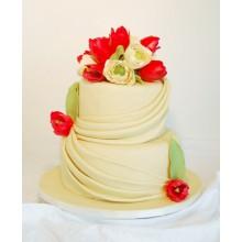 СВ 596 Торт весеняя свадьба