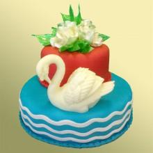 ПР 800 Торт прекрасный лебедь