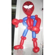 Ш-64  Фигурка из шарв человек паук