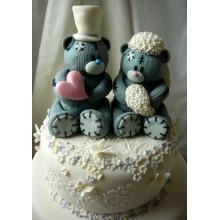 РМ 958 Торт свадьба мишек Тедди