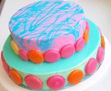 ПР 04 Торт с кружочками