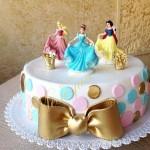 ДТ 036 Торт с принцессами диснея