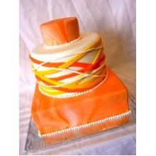 СВ 901 Торт большой оранжевый