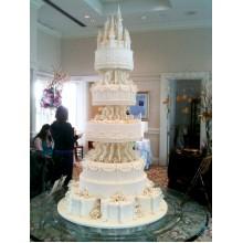 СВ 898 Торт свадебный с замком