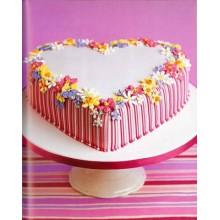 РМ 788 Торт сердце нежный цветы