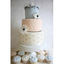 БСВ 79 Торт свадебный с капкейками