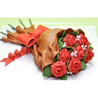 РМ 443 Торт букет роз на 8ое марта