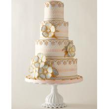БСВ 843 Торт свадебный нежная роспись