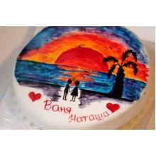 РМ 479 Торт романтическое путешествие