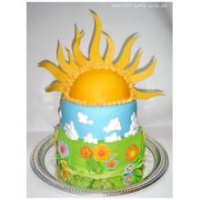 ДТ 77 Торт солнышко или прекрасная погода