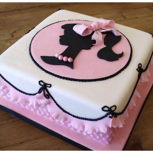 Торт из мастики для девочки 13 лет