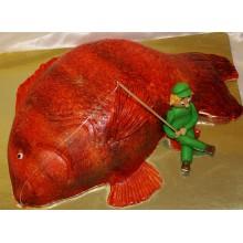 РМ 448 Торт большая рыба или рыбак