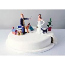 СМ 873 Торт на свадьбу прикольный