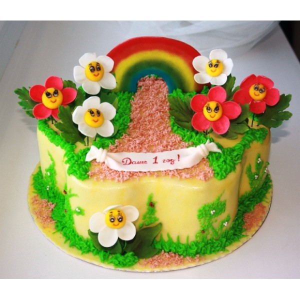 Украшения тортов без мастики для детей