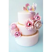 СВ 820 Торт нежные цветы