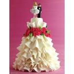 СВ 580 Торт свадебное платье