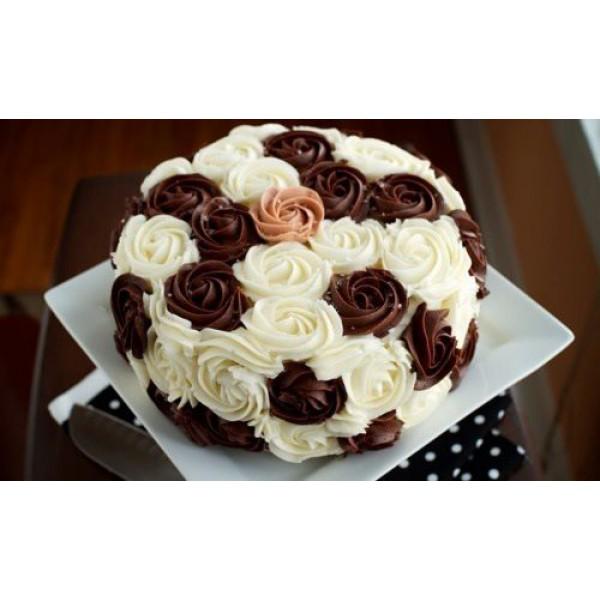 Как украсить торт розами в домашних условиях - Домашний Очаг - Полезные советы Онлайн