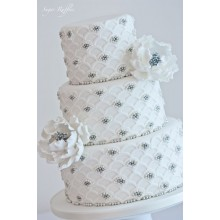 БСВ 332 Торт свадебный белый