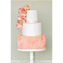 БСВ 896 Торт свадебный розовое настроение